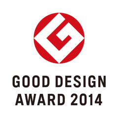 "Winner of the ""2014 Good Design Prize"""